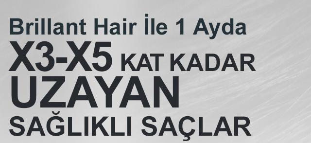 Brillant Hair Saç Serum